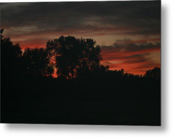 Late Evening Skies Metal Print