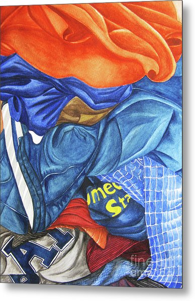 Laundry No1 Metal Print by Mic DBernardo
