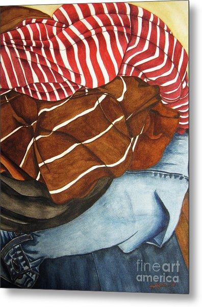 Laundry No3 Metal Print by Mic DBernardo