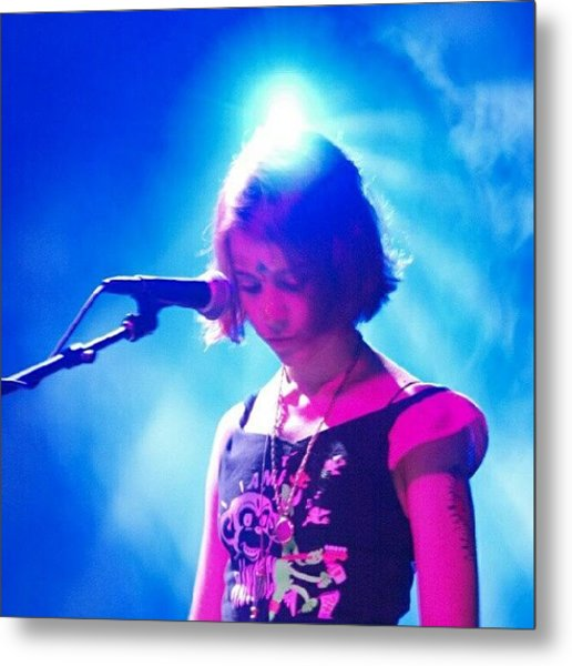 Laure Bruno Of Les Rav II Metal Print