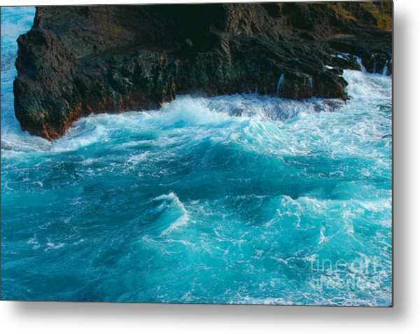 Lava Pools Hawaii-1 Metal Print