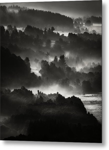 Layers Metal Print by Jaromir Hron