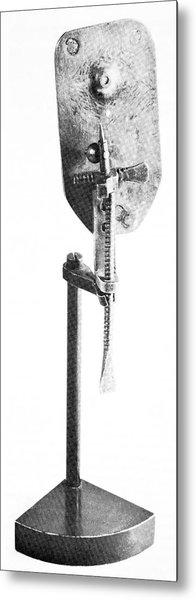 Leeuwenhoek's Microscope Metal Print by