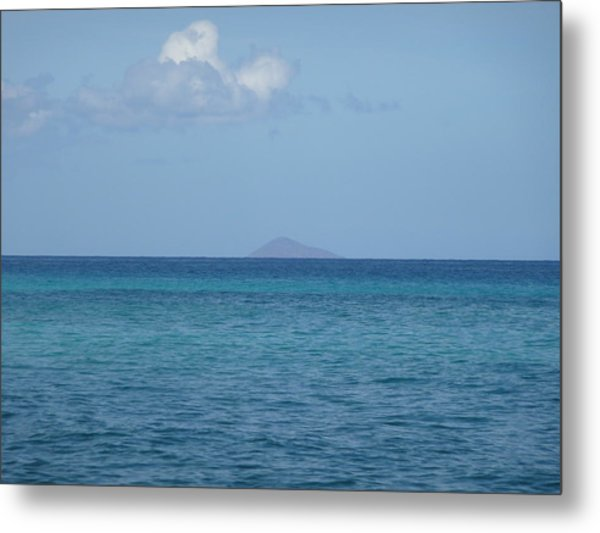 Lehua Rock From Polihale Metal Print by Keith Baggett