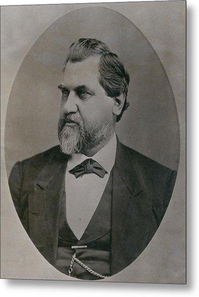 Leland Stanford 1824-1893 Was Drawn Metal Print by Everett