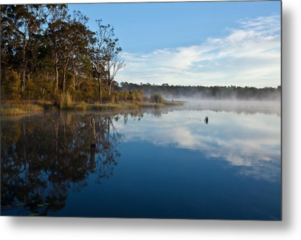 Lenthalls Dam 03 Metal Print by David Barringhaus