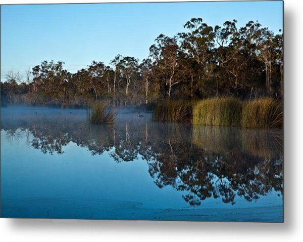 Lenthalls Dam 14 Metal Print by David Barringhaus