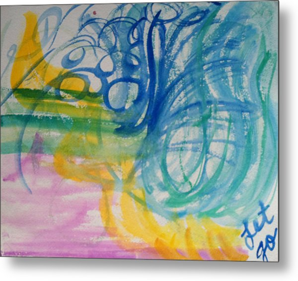 Let Go In The Spirit Metal Print by Bethany Stanko