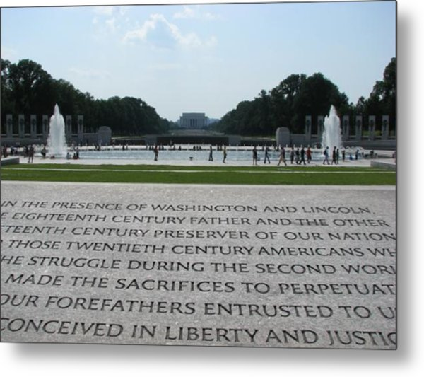 Liberty And Justice  Metal Print