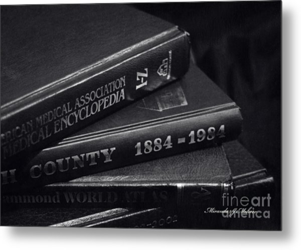 Library Metal Print by Miranda Mehrer