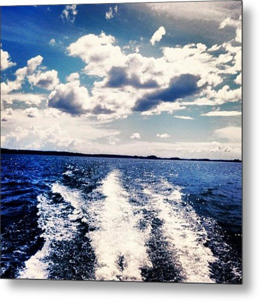Life On The Lake. Metal Print