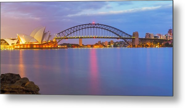 Light Dosen't Sleep Metal Print