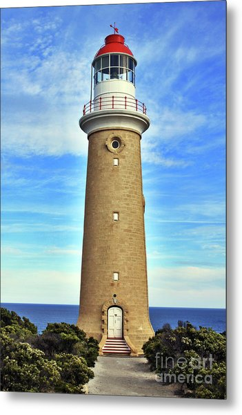 Light House At Cape Du Couedic Metal Print