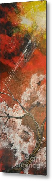 Light In The Red Sky Metal Print