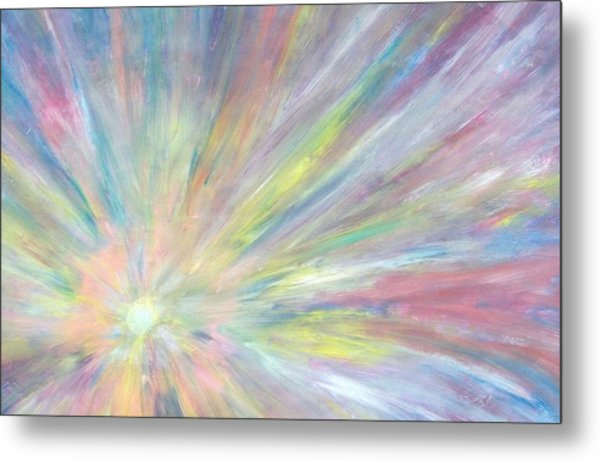 Light Metal Print by Jeanette Stewart