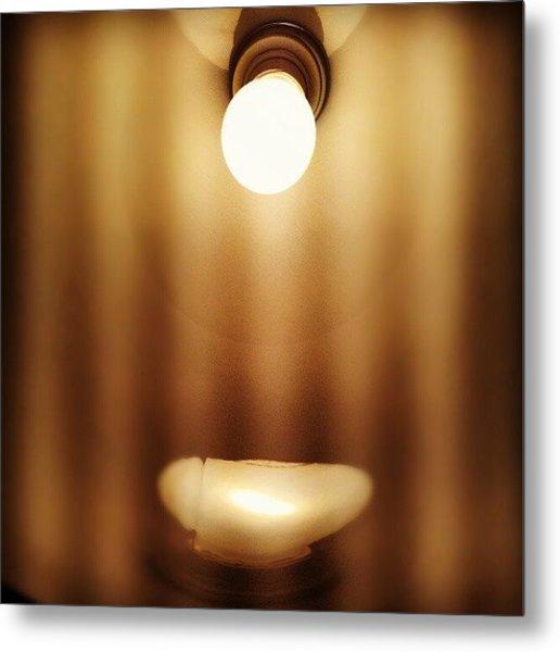 #light #lamp Metal Print