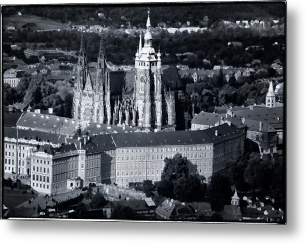 Light On The Cathedral Metal Print