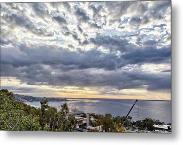 Light Over La Jolla Metal Print