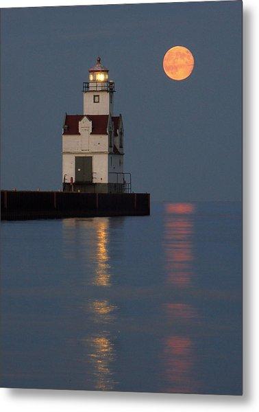 Lighthouse Companion Metal Print