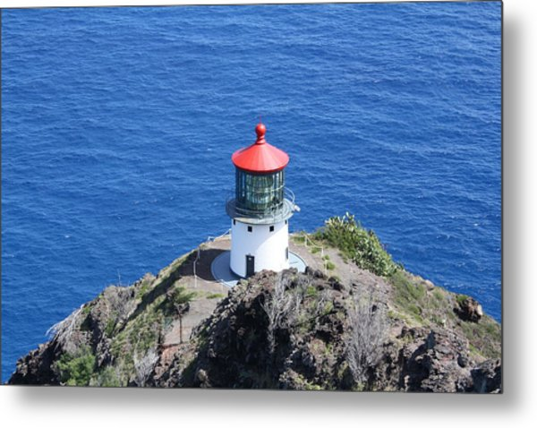 Lighthouse Metal Print by Natalija Wortman