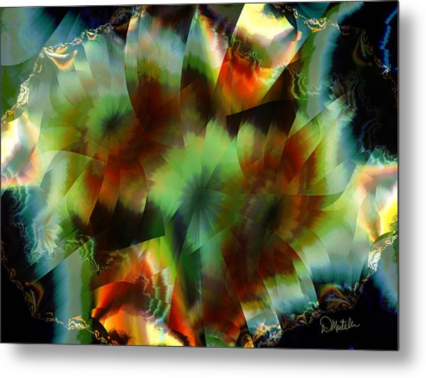 Like Stained Glass Metal Print