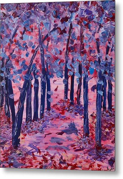 Lilac Avenue Metal Print