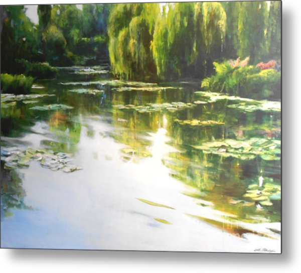 Lilly Lake Metal Print