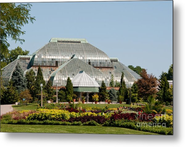 Lincoln Park Zoo In Chicago Metal Print