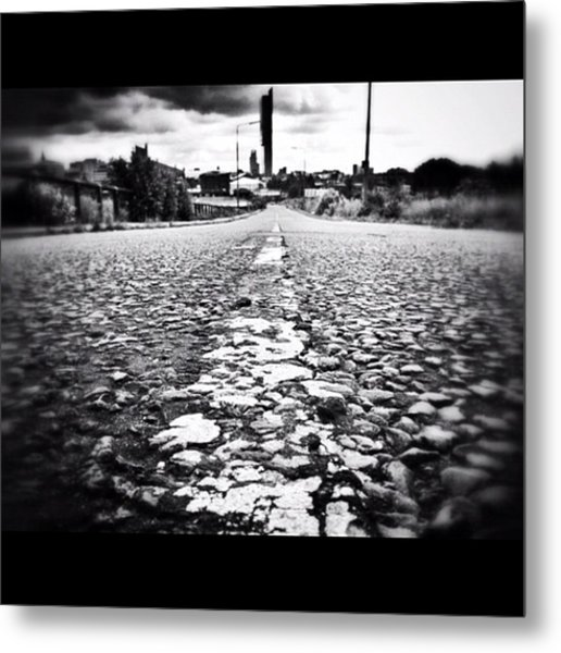 #linegasm #texture #manchester #mcr Metal Print