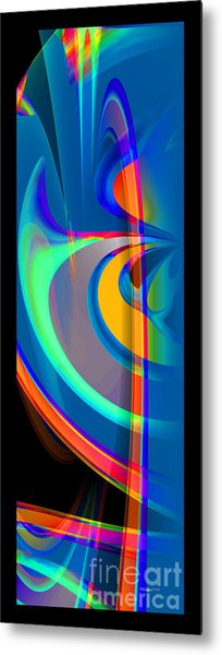 Liquid Breeze Metal Print