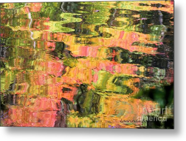 Liquid Colors Metal Print