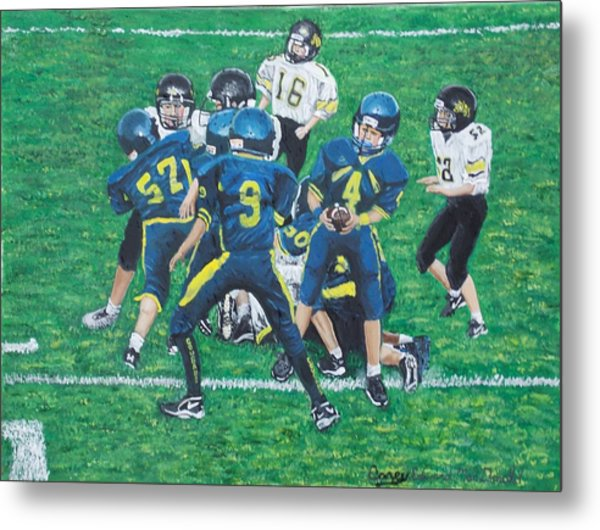 Little Big Hitters  Metal Print