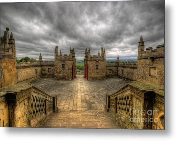 Little Castle Entrance - Bolsover Castle Metal Print