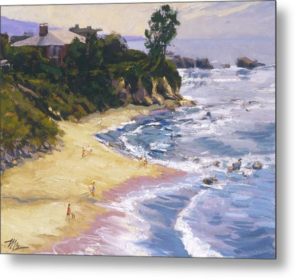 Little Corona High Tide Metal Print
