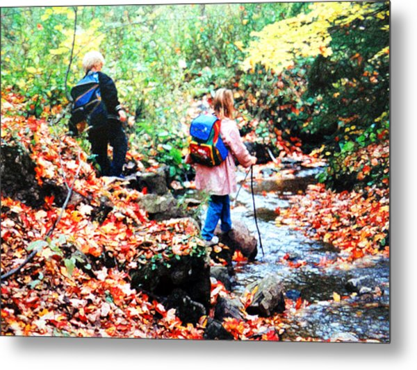 Little Explorers 1 Metal Print