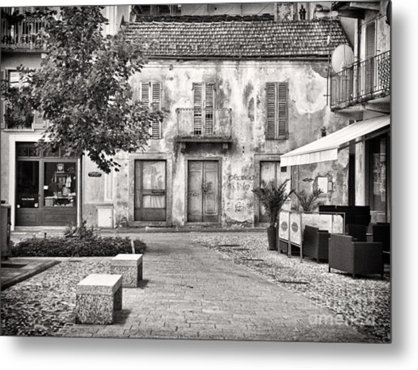 Little Italian Corner Metal Print