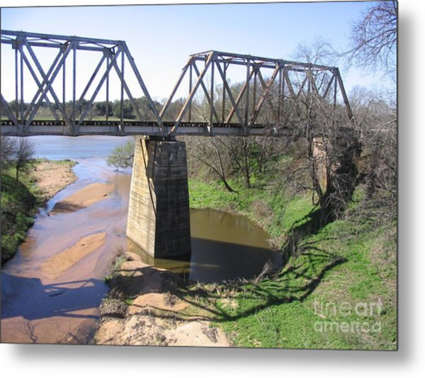Little Llano Creek Metal Print