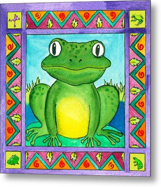 Little Toad Metal Print by Pamela  Corwin