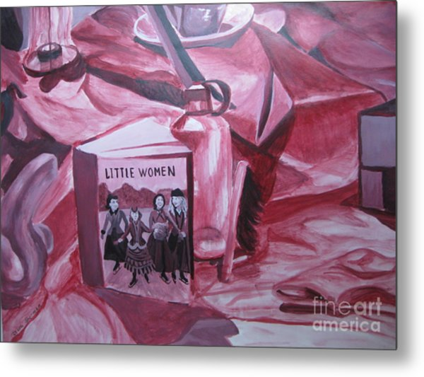 Little Women Metal Print