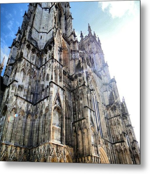 #liverpool #city #sun #sunshine Metal Print