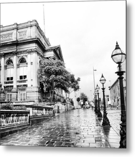 #liverpool #uk #england #rainy #rain Metal Print