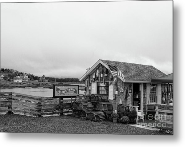 Lobster House Bw Metal Print
