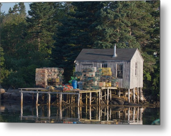 Lobster Shack Prospect Harbor Metal Print