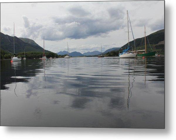 Loch Leven - Glencoe Metal Print