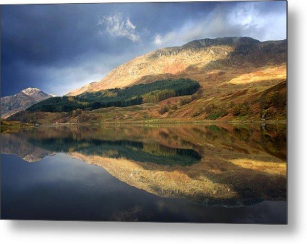 Loch Lobhair, Scotland Metal Print