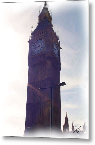 London Big Ben Metal Print by Thomas Frias