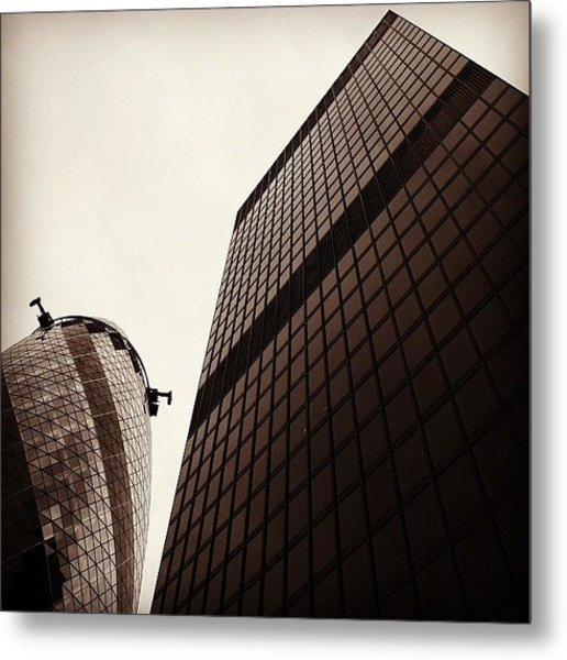 #london #gherkin#building #architecture Metal Print