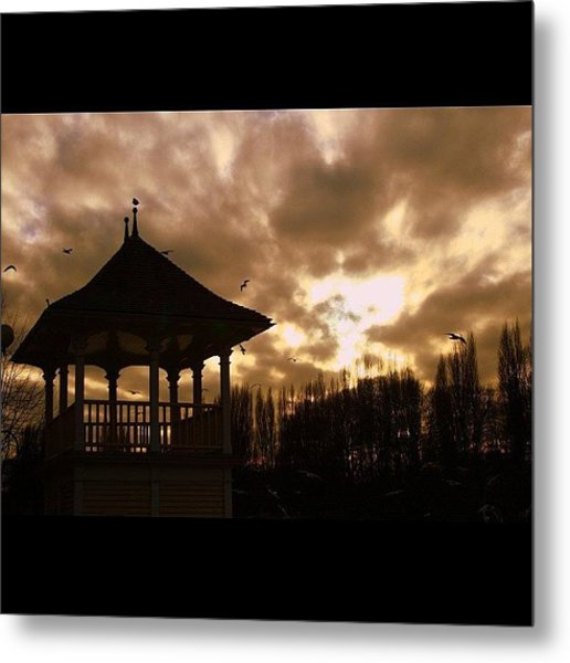 #london #kingston #thamespath Metal Print
