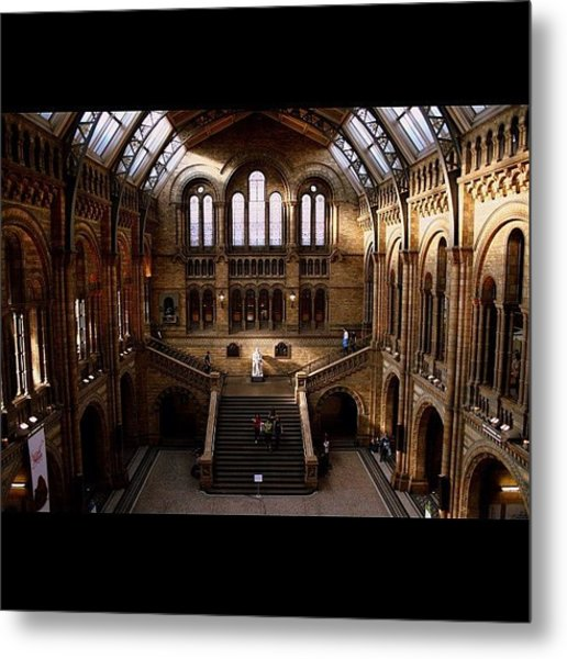 #london #nationalhistory #darwin Metal Print