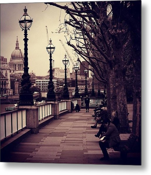 #london #southbank #stpaul Metal Print
